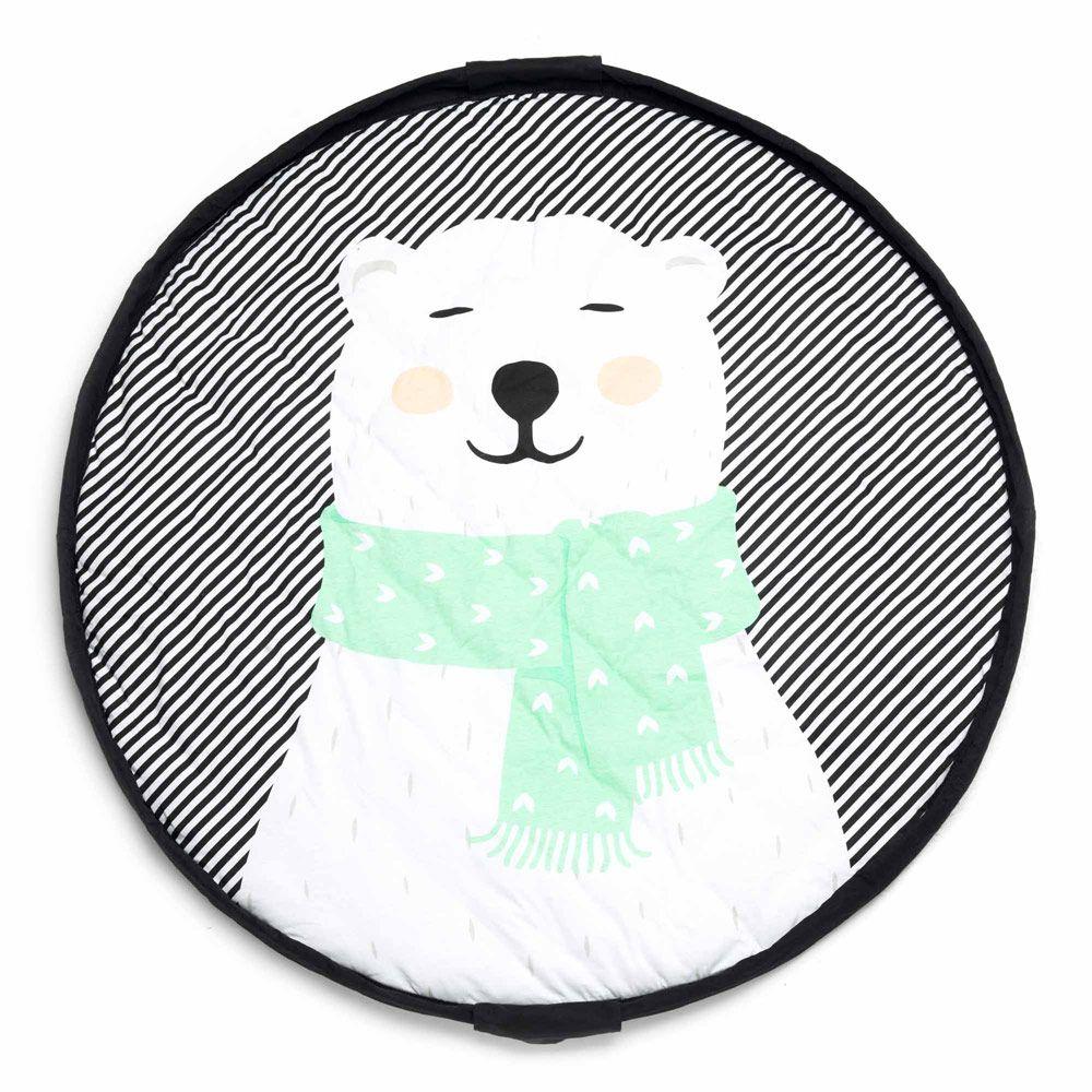 Play & Go vatteret legetæppe Isbjørn