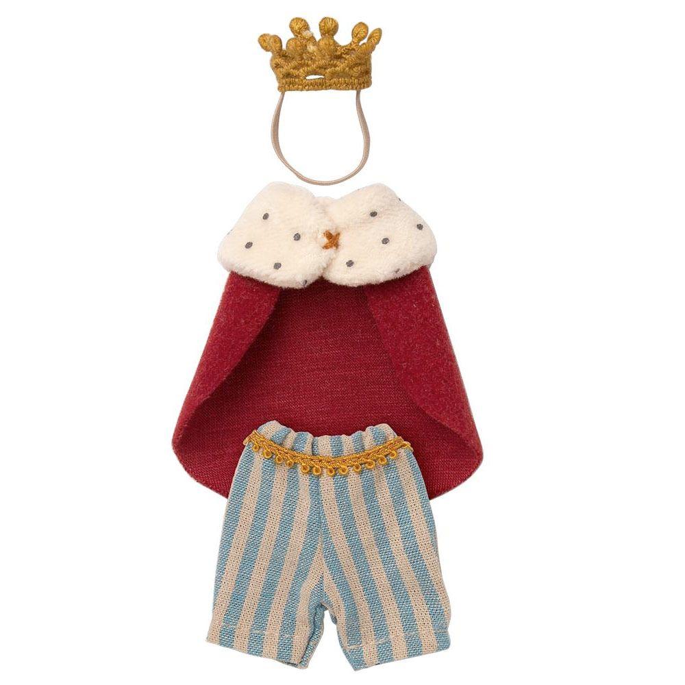 Maileg Konge tøj - Far mus