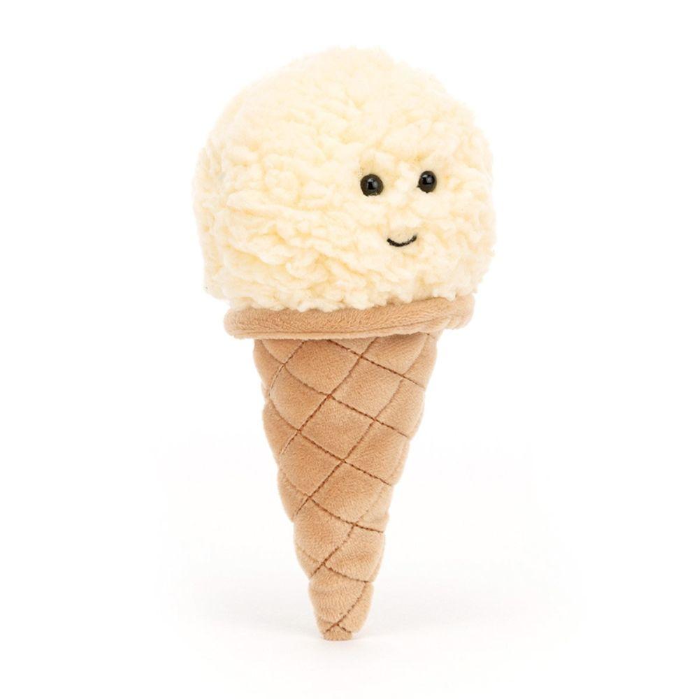 Jellycat Ice Cream Vanilje 16 cm