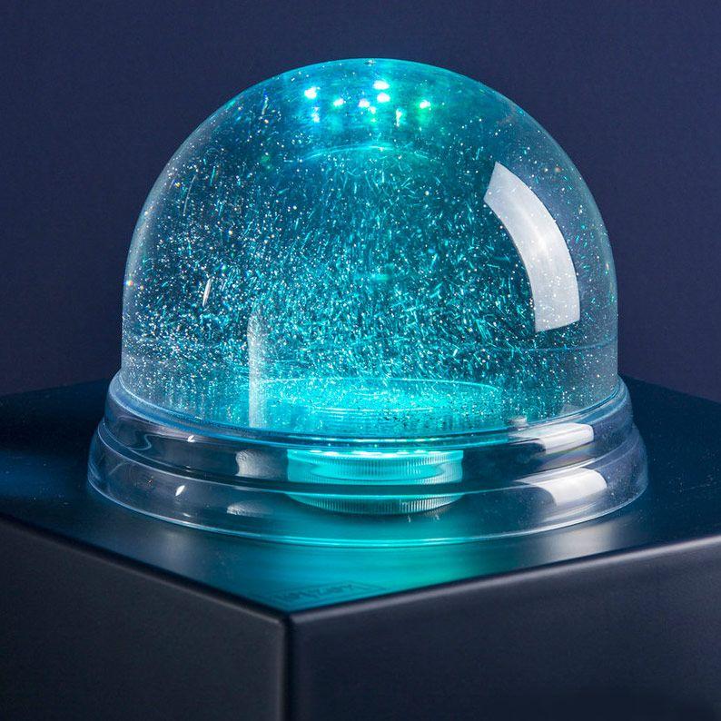Gigantisk snekugle med LED lys Dreamglobe