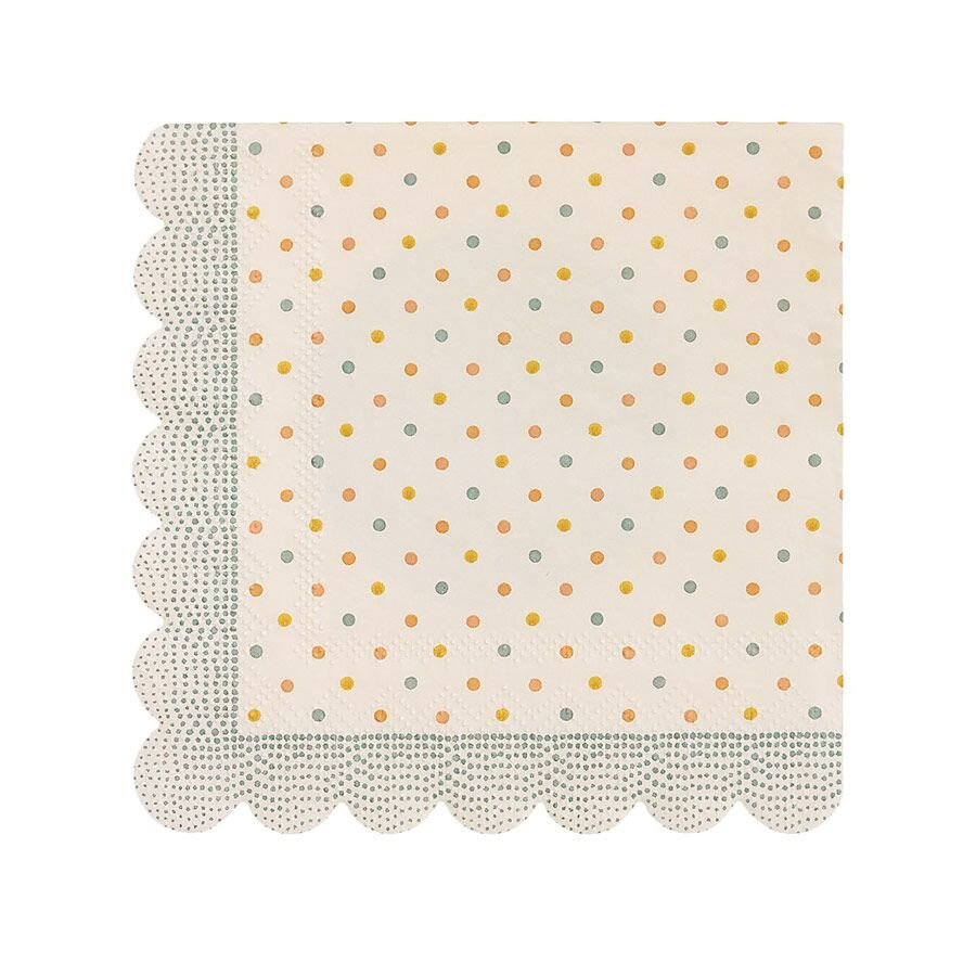 Maileg Servietter Multi dot
