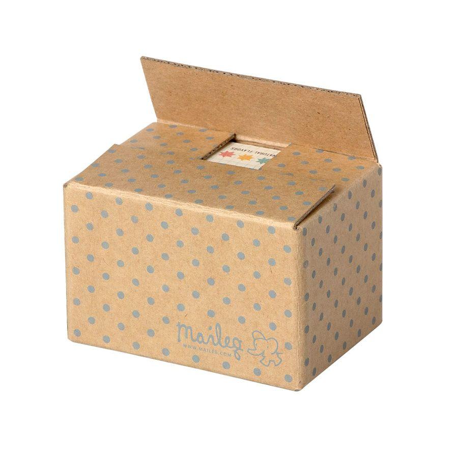 Maileg Miniature kasse med madvarer