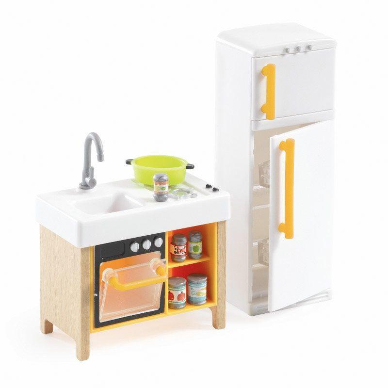 Djeco dukkehus mini køkken
