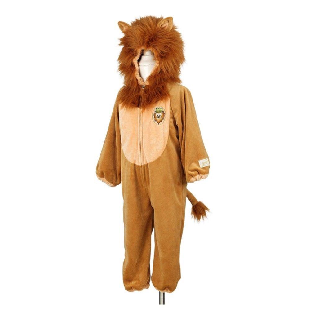Løve dragt 116 cm - 6 år