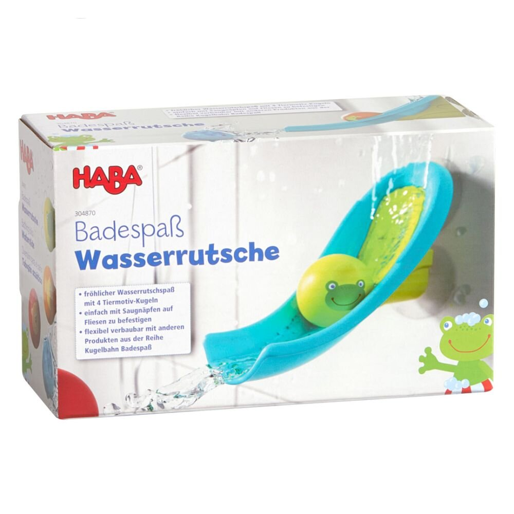 HABA Badelegetøj vandrutsjebane med 4 kugler