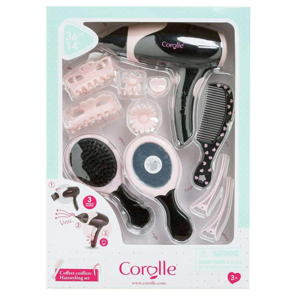 Corolle frisørsæt tilbehør 14 dele