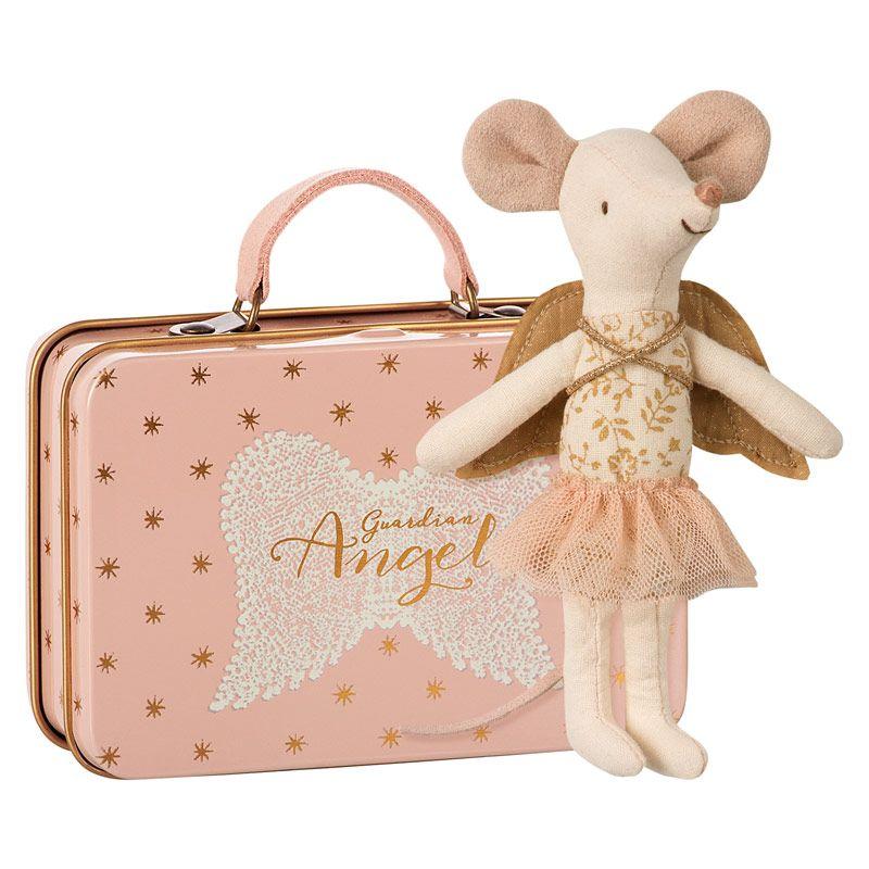 Maileg kuffert inkl. Guardian Angel mus big sister