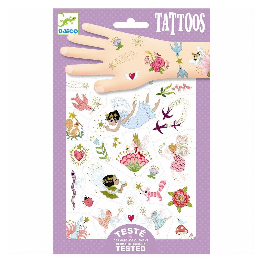 evntyrlige venner tattoos fra djeco