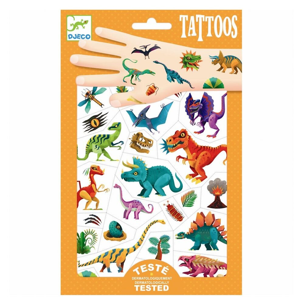 Djeco Tatoveringer - Dino klub Tattoos