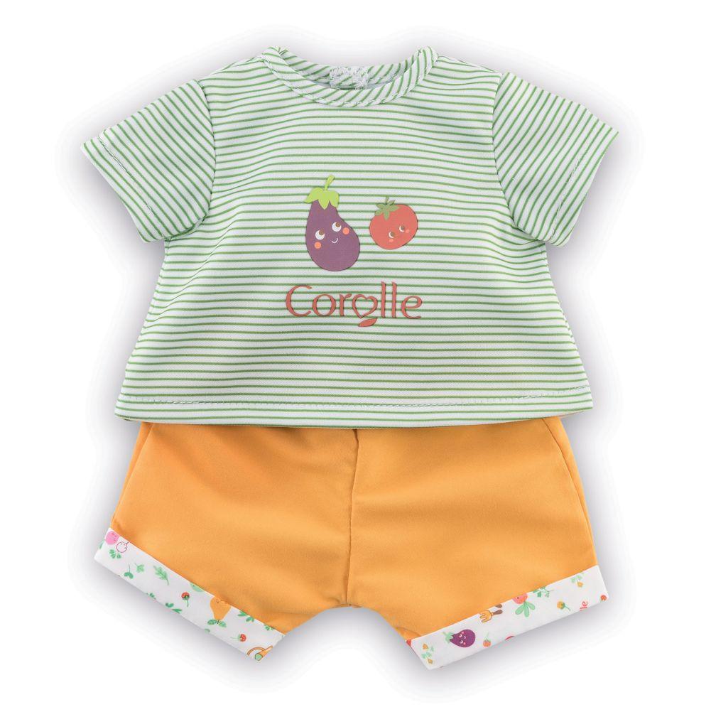 Corolle Dukketøj t-shirts og shjorts 36 cm