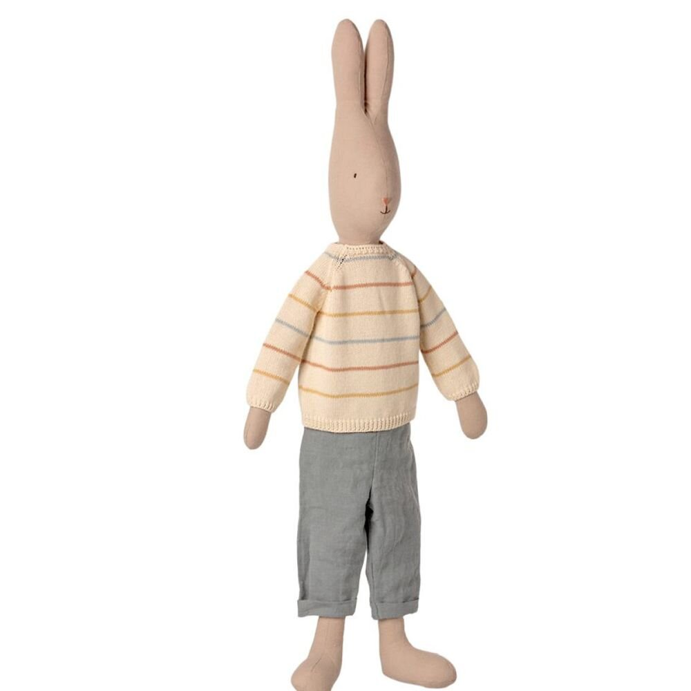 Maileg Kanin size 5 med strikket trøje