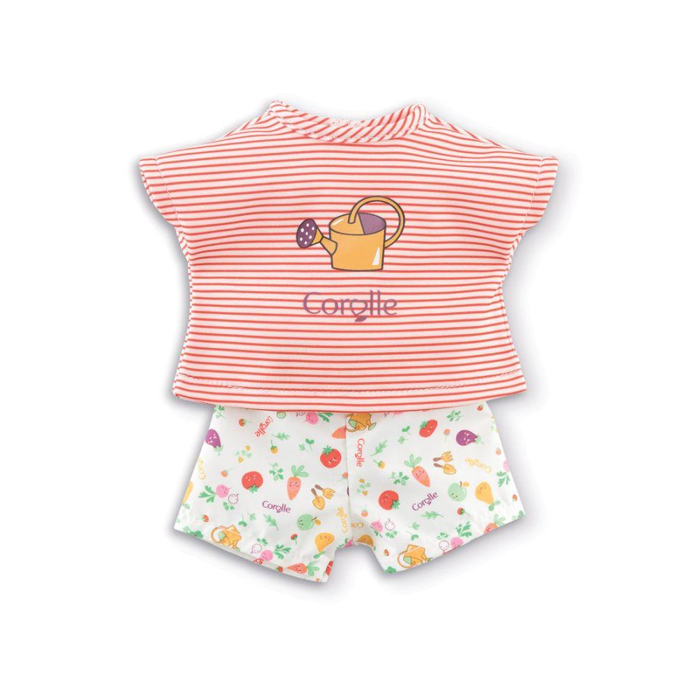 Corolle Ma dukketøj T-shirt og shorts  21196