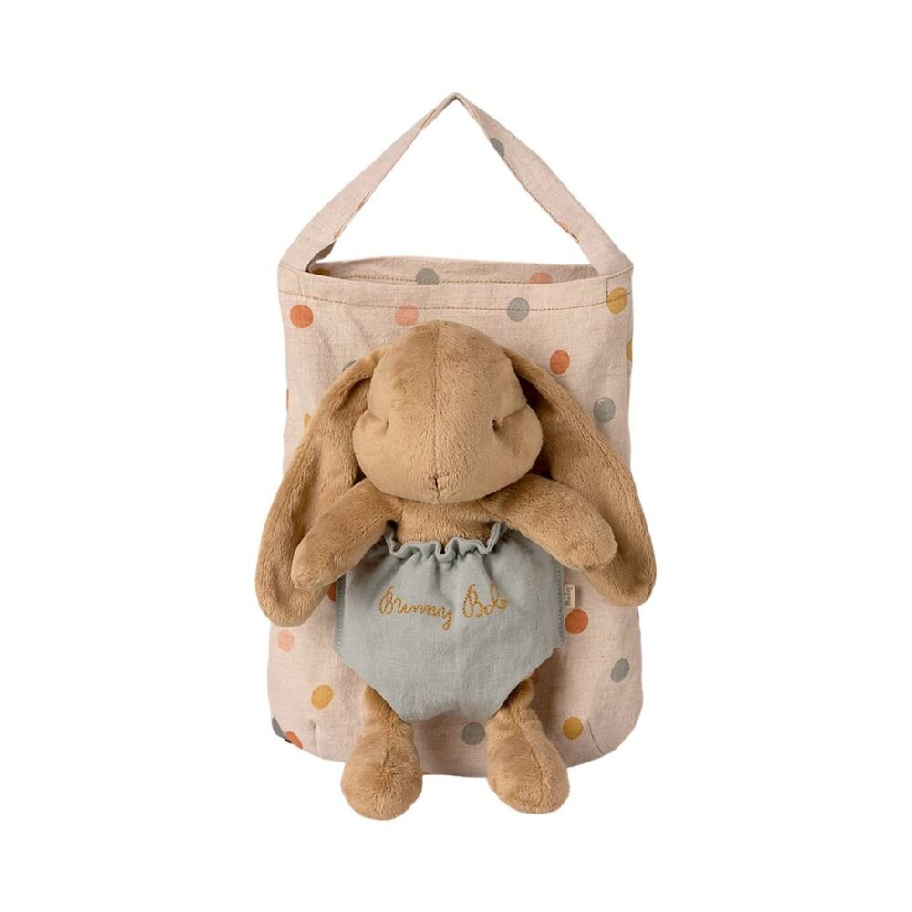 Maileg Bunny Bob i taske