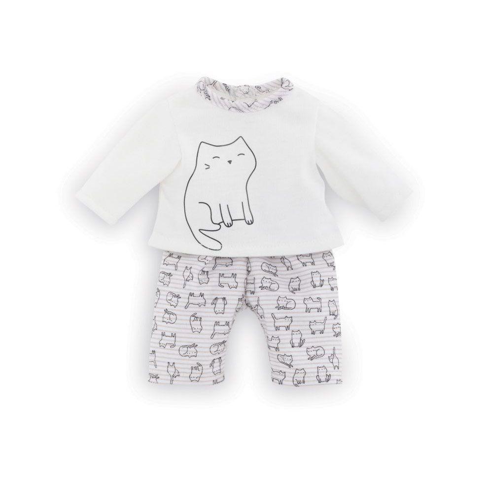 Corolle Ma dukketøj pyjamas med katte