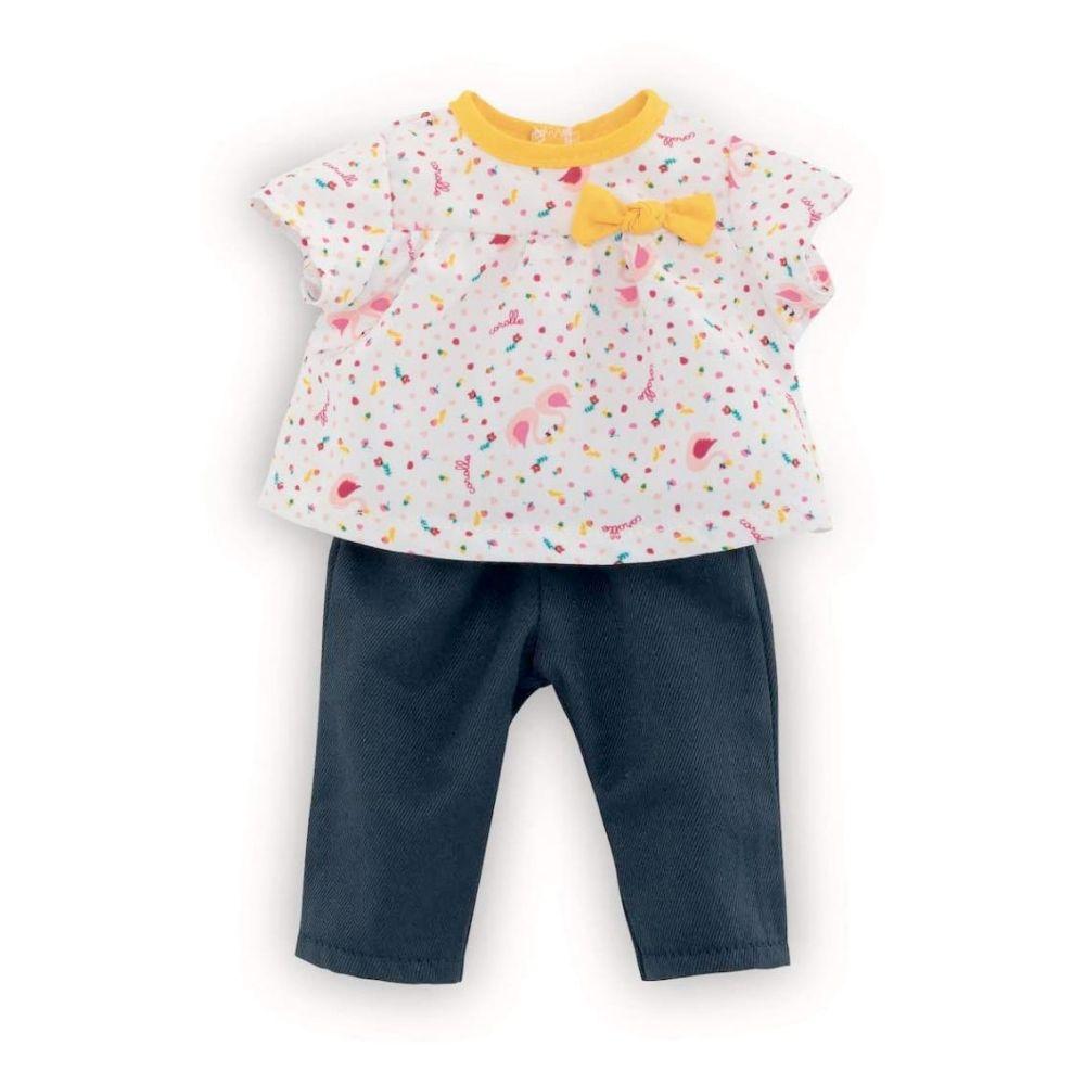 Corolle Ma dukketøj bluse og bukser Swan Royal
