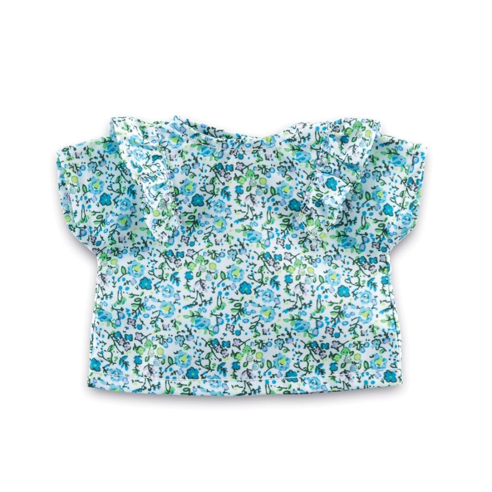 Corolle Ma dukketøj blomstret bluse