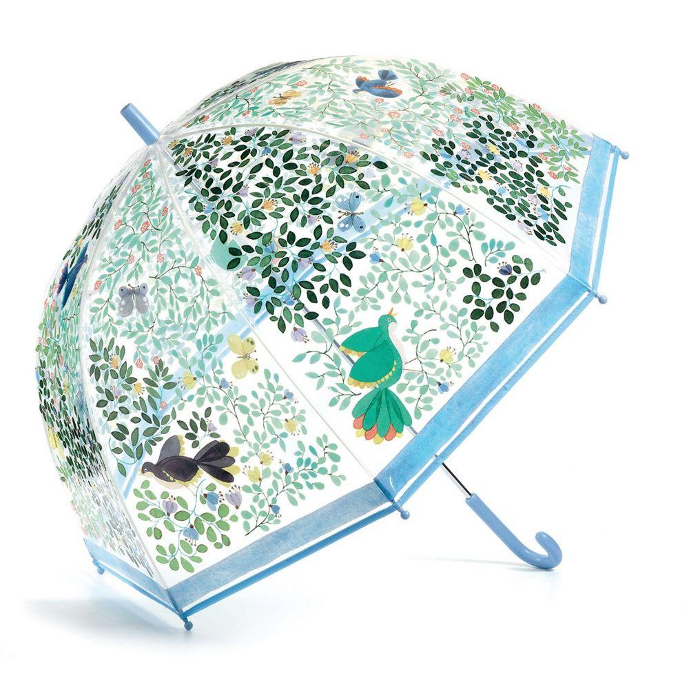 Djeco Paraply Stor Blomster og fugle