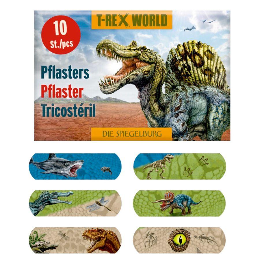 T-rex world plastre med dinoer