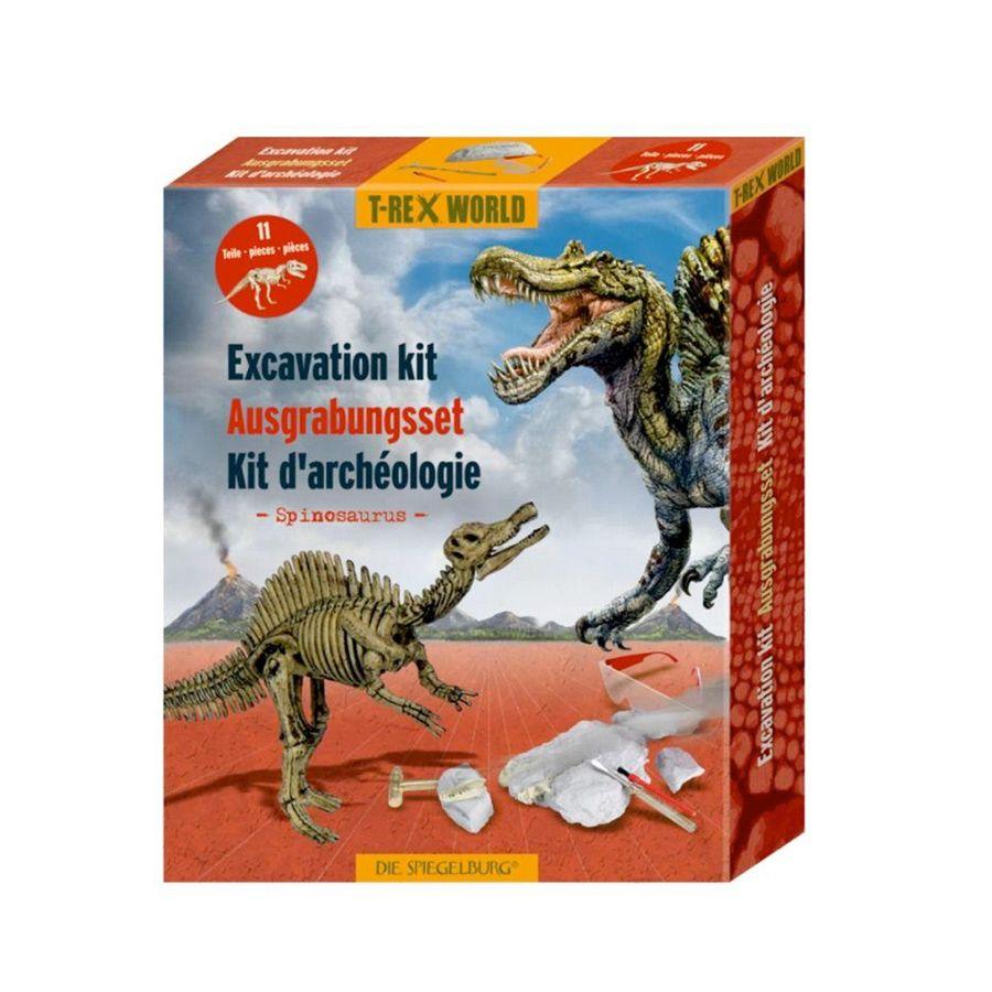 Udgravning af Spinosaurus dinosaur