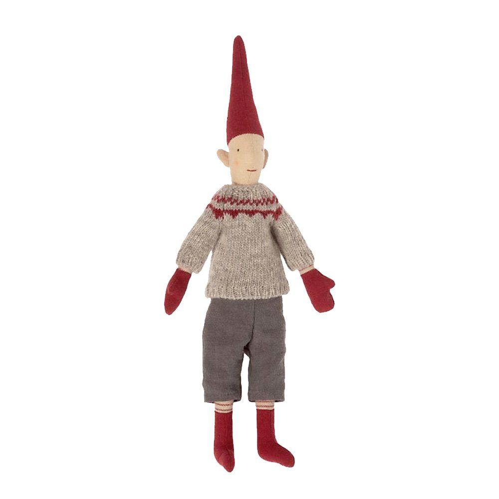 Maileg Mini nisse 2021 Dreng 2 med strikket trøje