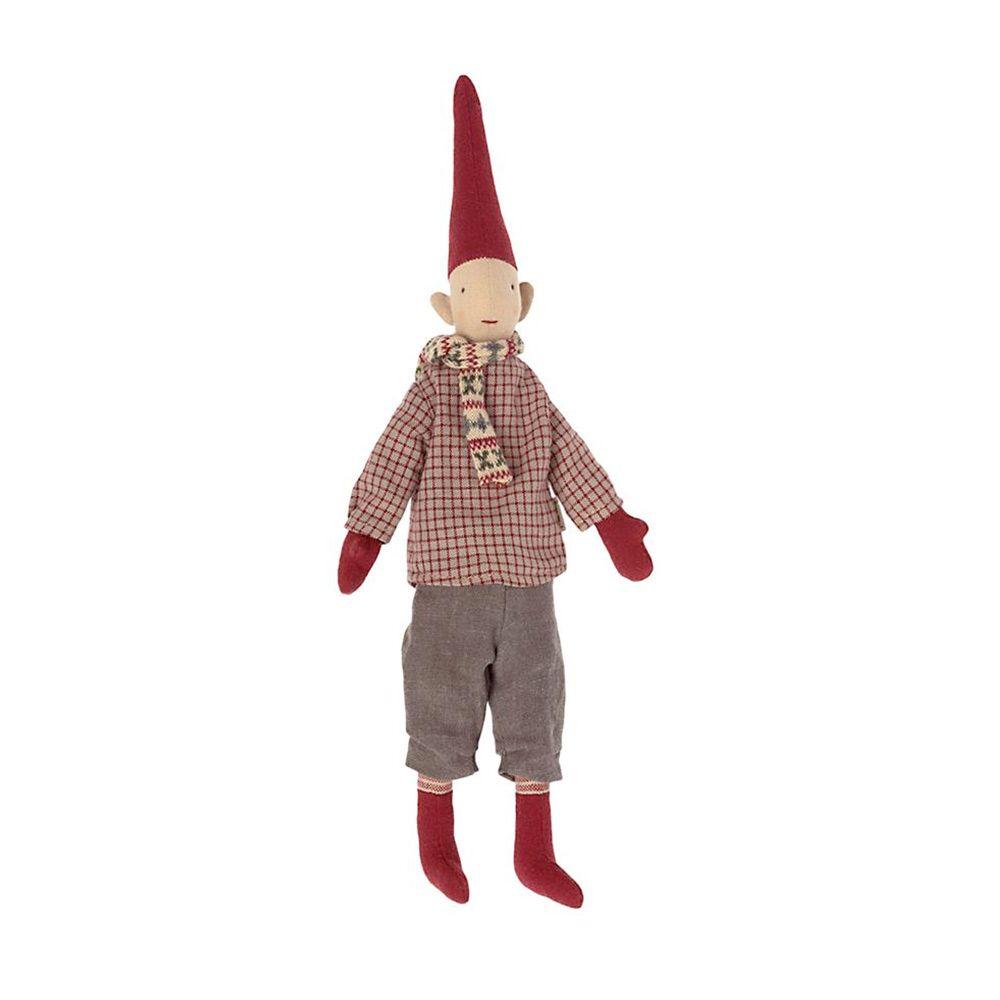 Maileg Mini nisse 2021 Dreng 4 med tørklæde