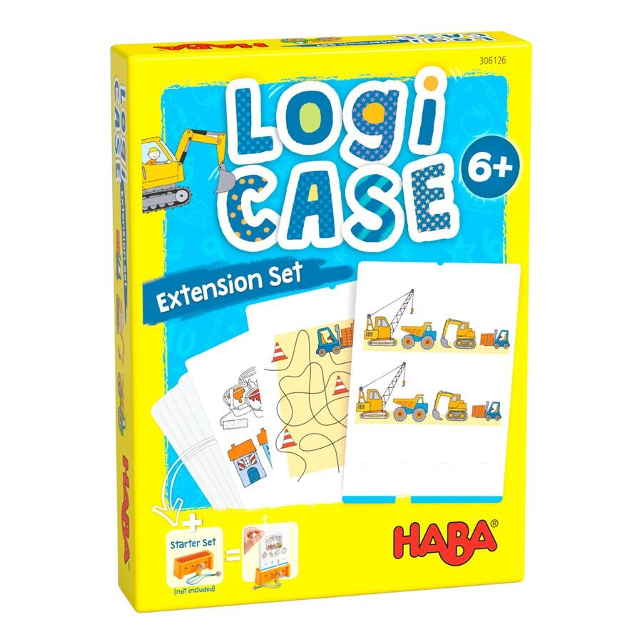 HABA Logi Case Extension set Byggeplads 6+