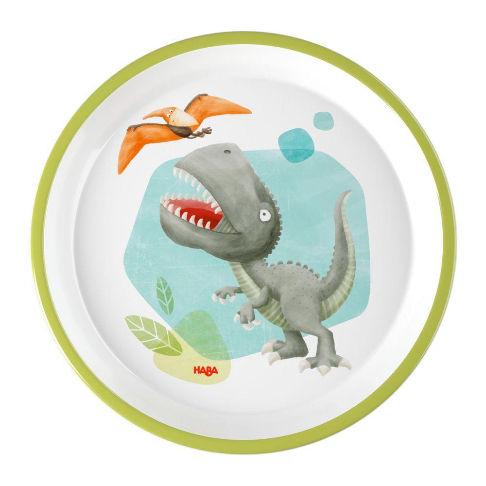 HABA Tallerken melamin dinosaurer
