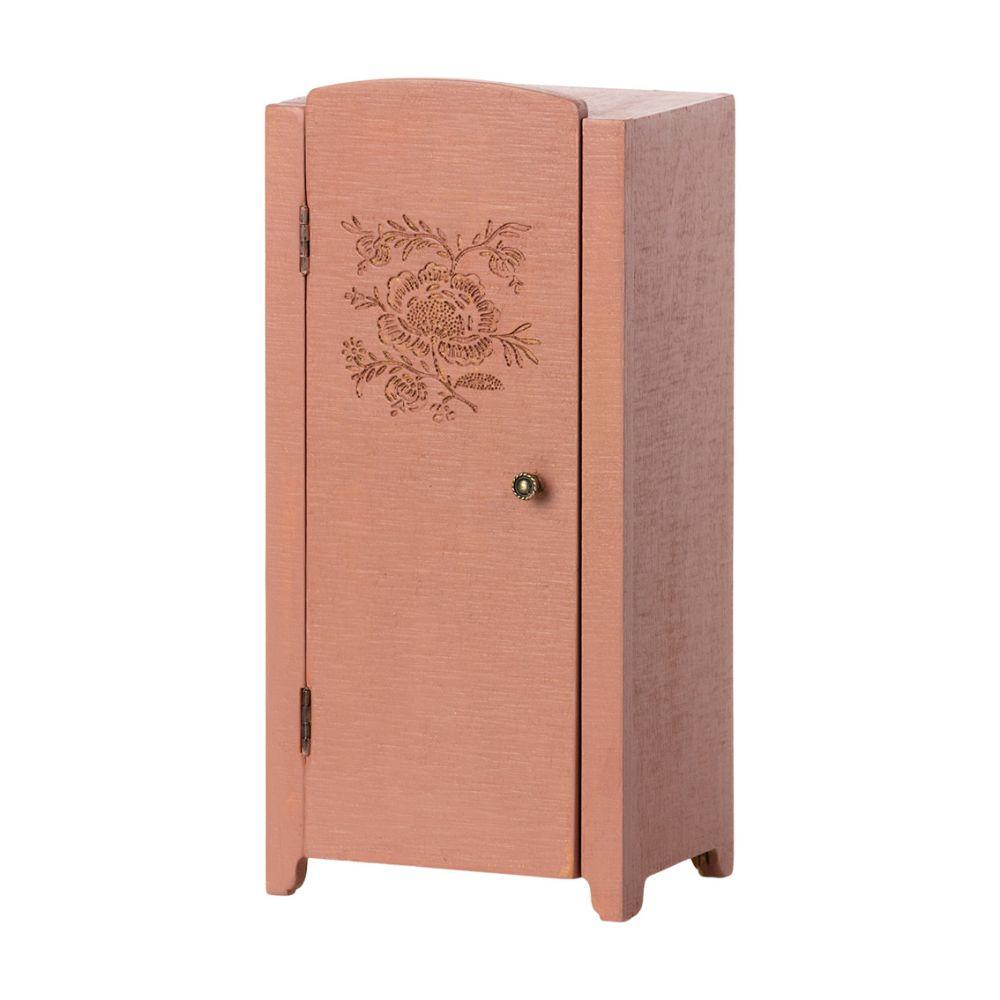 Maileg Miniature Vintage skab Støvet rosa