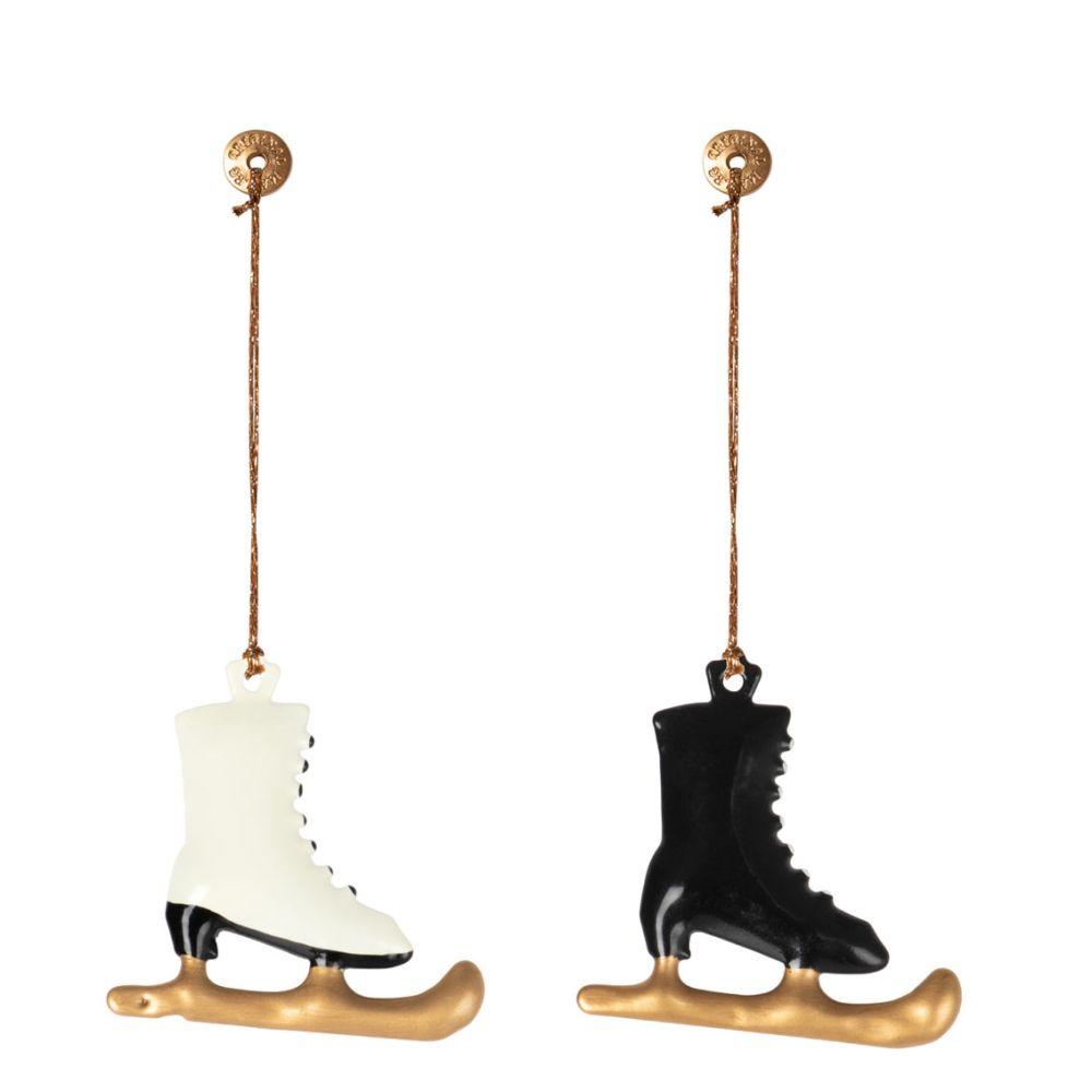 Maileg Juleophæng skøjter metal 2021