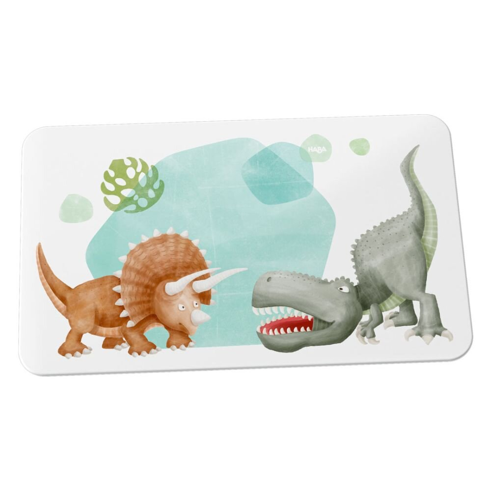 HABA Smørebræt i melamin dinosaurer