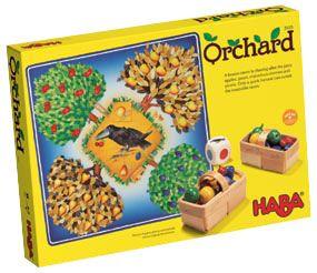 HABA frugthave spil obstgarden Olisan.dk