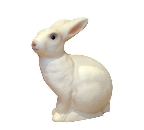 Heico kanin lampe i hvid olisan.dk