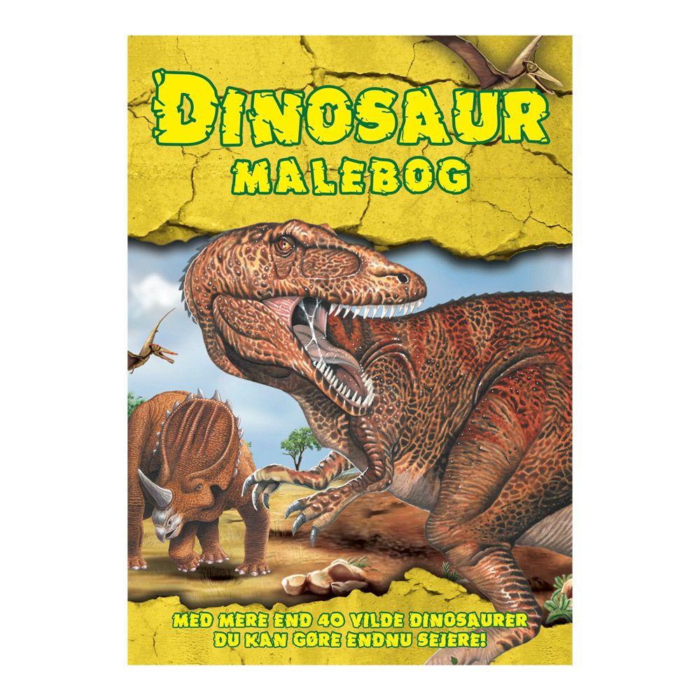 Malebog Farvelæg Dinosaurer