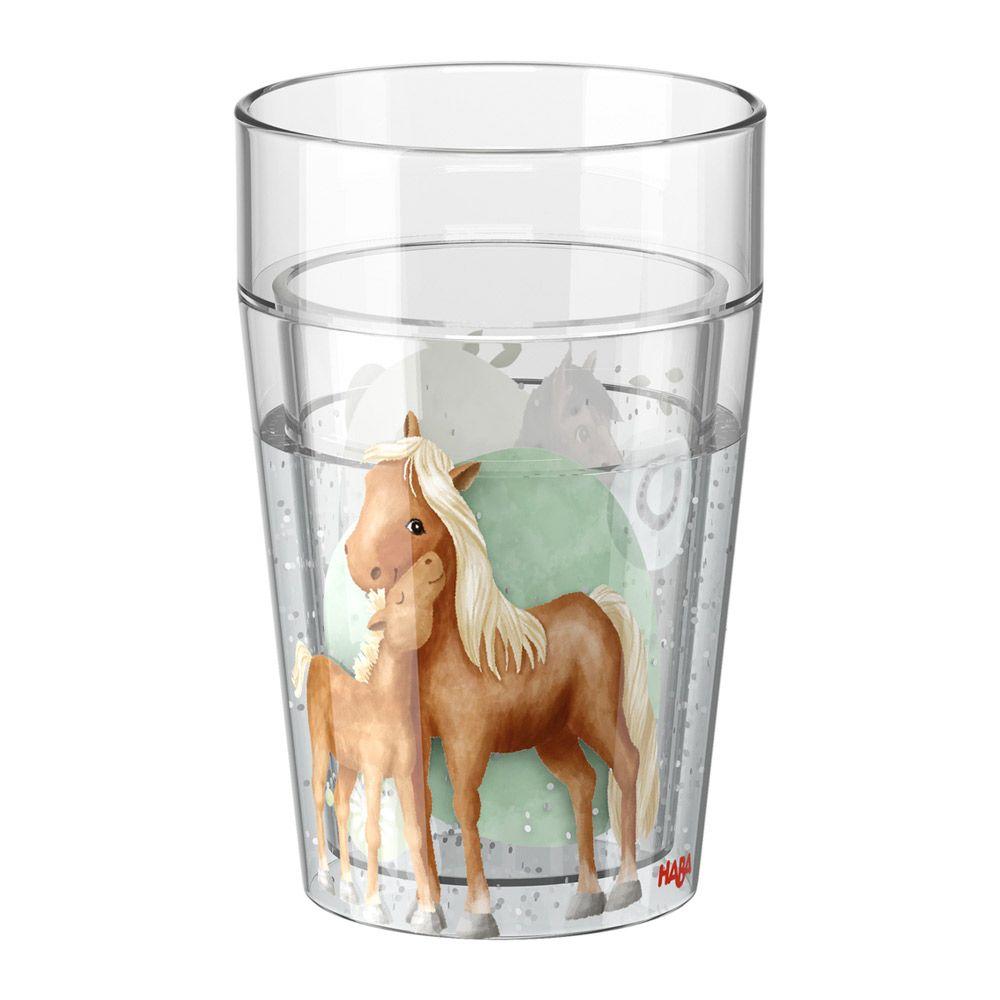 HABA Krus med glimmer heste