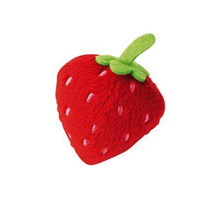 Haba legemad jordbær i stof
