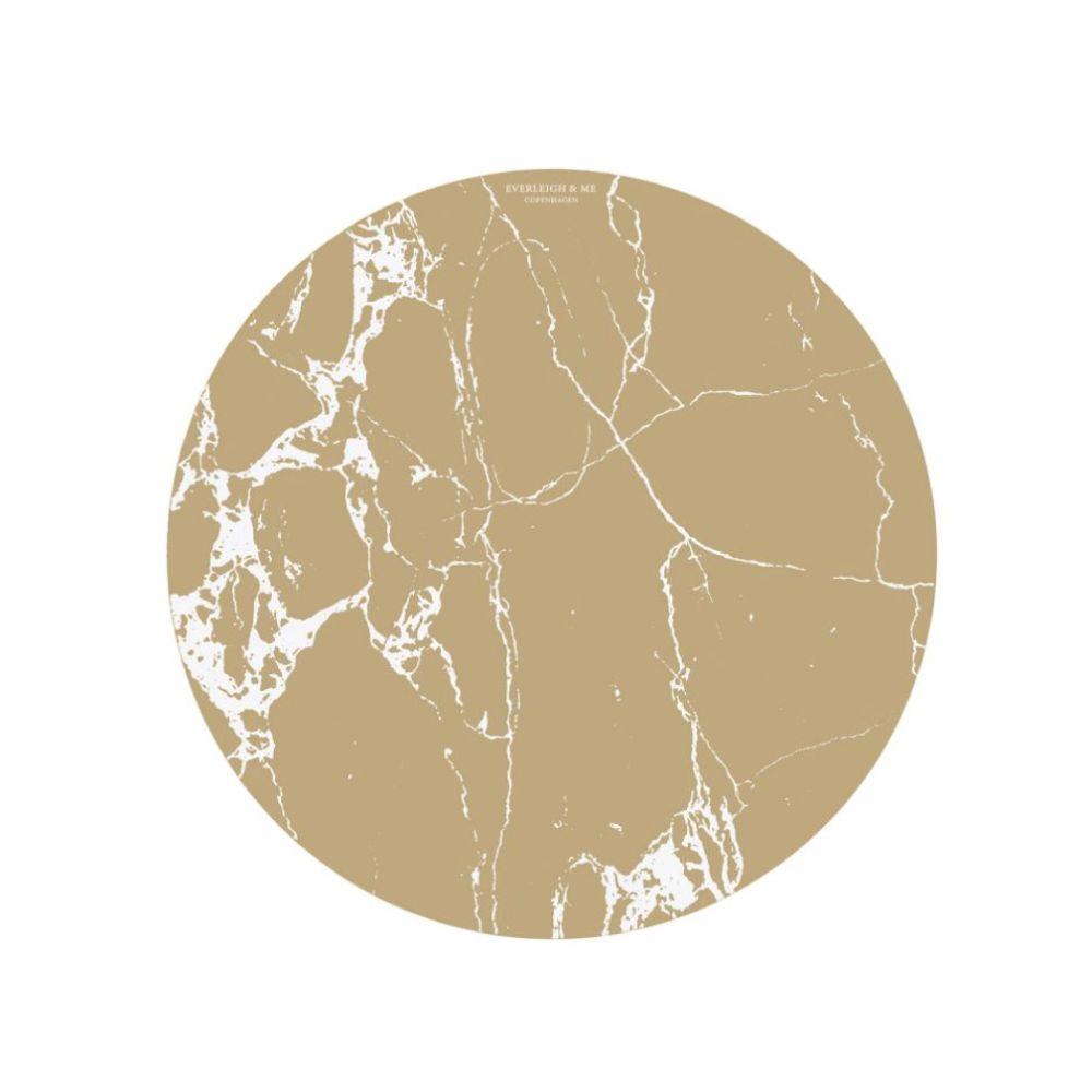 Skridsikkert underlag Splat Mat - Brown Marble