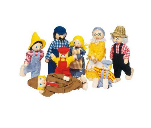Dukkehus familie fra Goki Olisan.dk