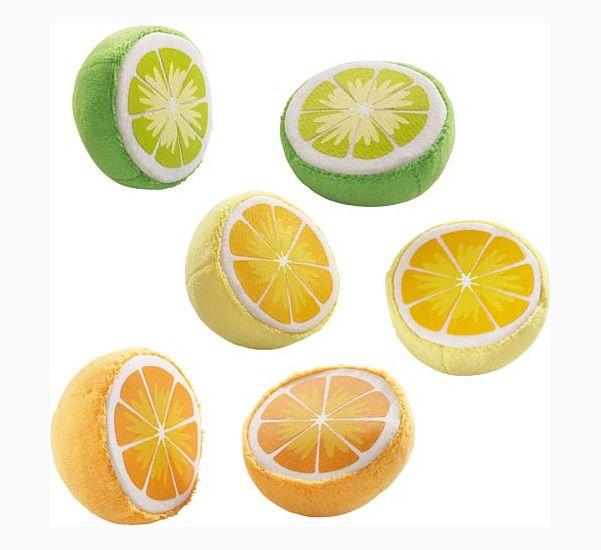 Haba legemad citrus frugter i stof