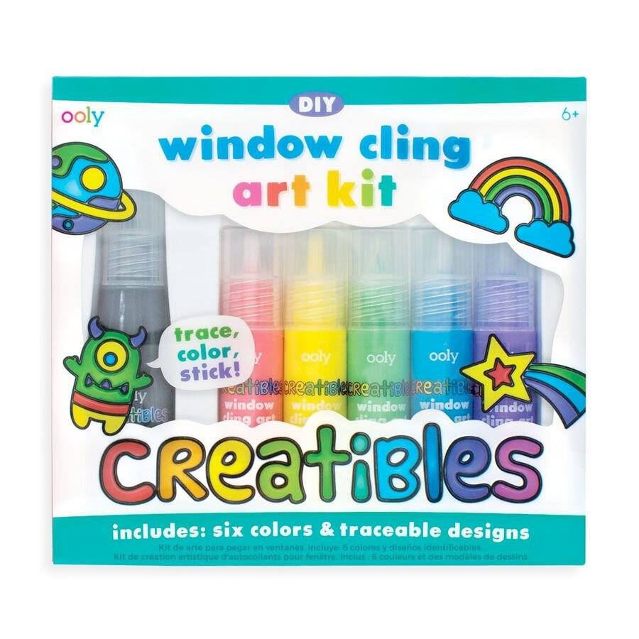 Vinduesmaling DIY med skabeloner