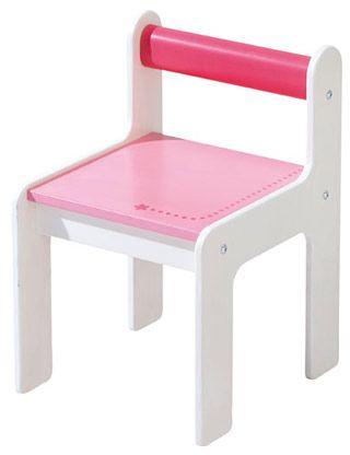 HABA børnestol i pink Olisan.dk