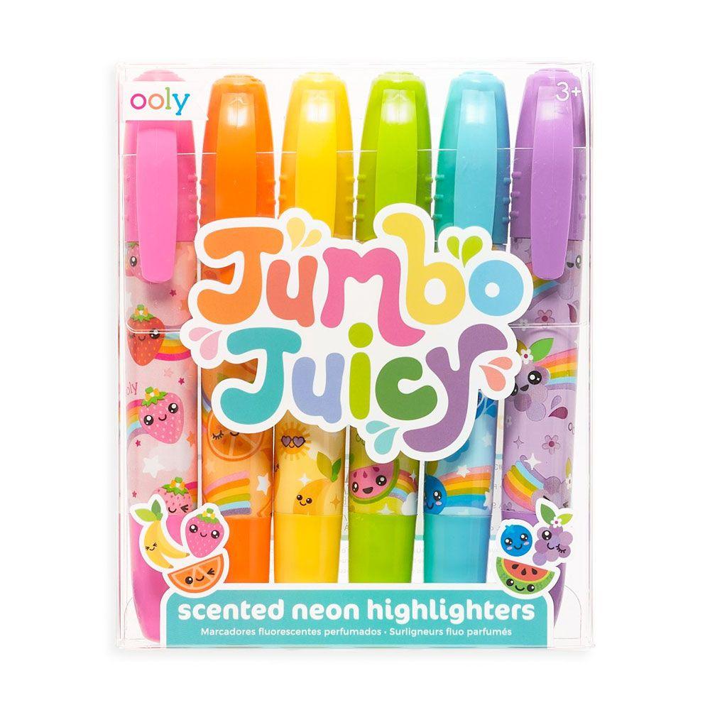Jumbo Juicy highlightere med duft