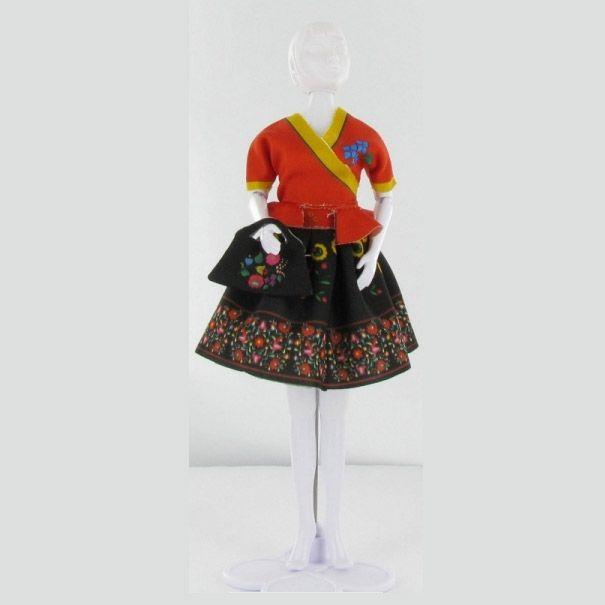 Dress Your Doll - Steffi Folk 4 - Olisan.dk