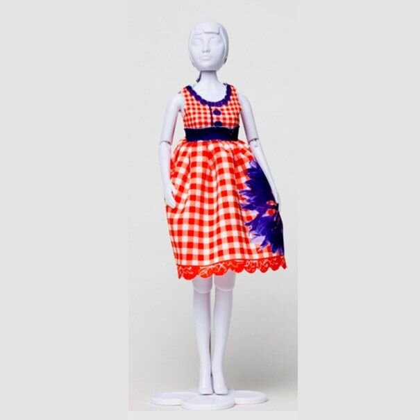 Dress Your doll - Audrey Cornflower 4 - Olisan.dk