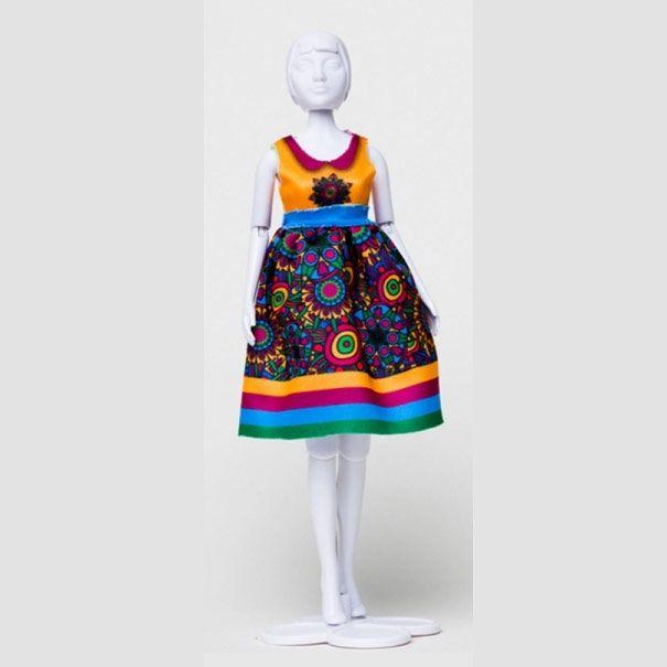 Dress Your doll - Audrey Flower Power 4 - Olisan.dk