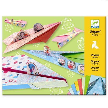 Djeco papirflyver i pastel