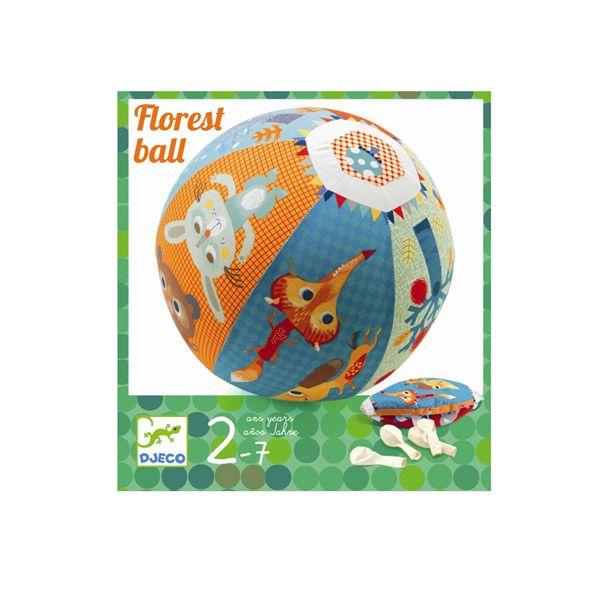 Djeco ballon boldt med skovens venner