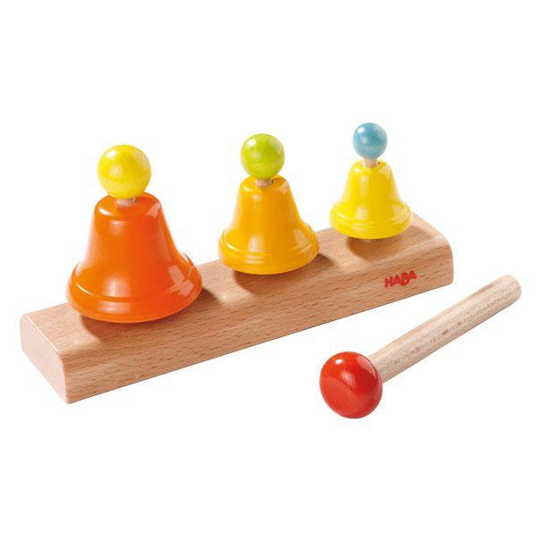 Klokkespil fra HABA instrumenter til børn