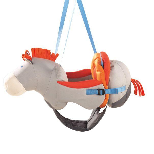 Babygynge fra HABA formet som en hest Olisan.dk
