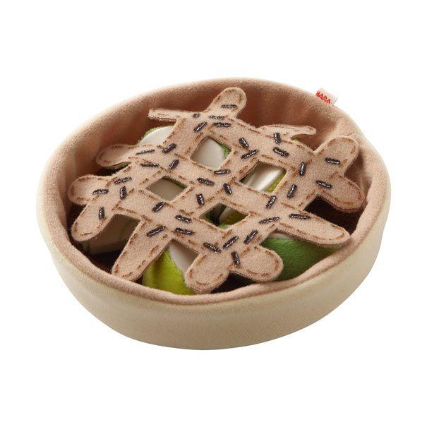 Legemad æbletærte fra HABA