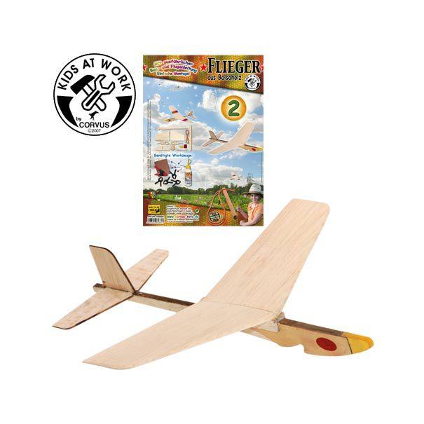 Byg selv flyver i træ til børn Olisan.dk fra Corvus